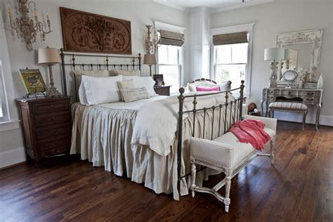French Country Neutral Master Bedroom