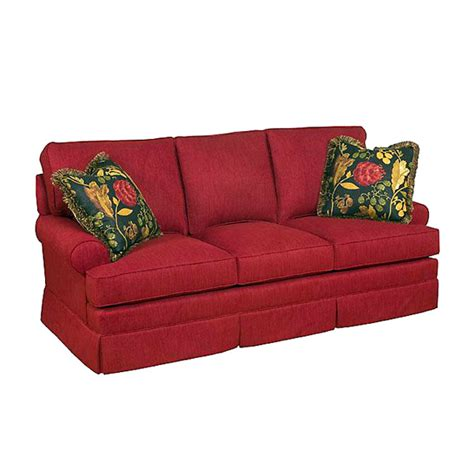 King Hickory Sofa Construction by Custom Fenton Home Furnishings