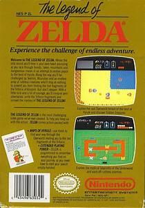 The Legend Of Zelda Box Shot For Nes Gamefaqs