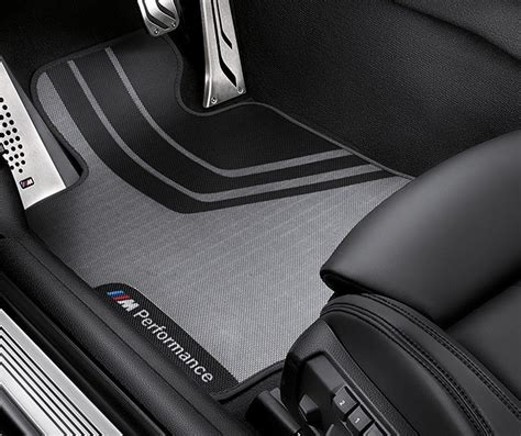 Bmw 3 Series F30 F31 M Performance Floor Mats Front Set