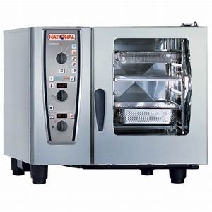 Rational Combimaster Plus Model 61 A619106 12 202 Combi Oven With Six Half Size Sheet Pan