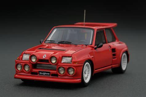 renault 5 maxi turbo 1 43 renault 5 maxi turbo red