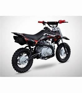 Moto Essence Enfant : moto essence enfant 50cc noir rouge probike automatique kiddi quad ~ Nature-et-papiers.com Idées de Décoration