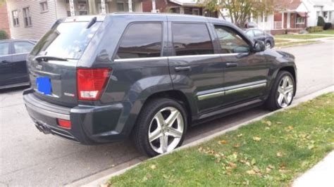 blue jeep grand cherokee srt8 find used 2007 jeep grand cherokee srt8 6 1 l super clean