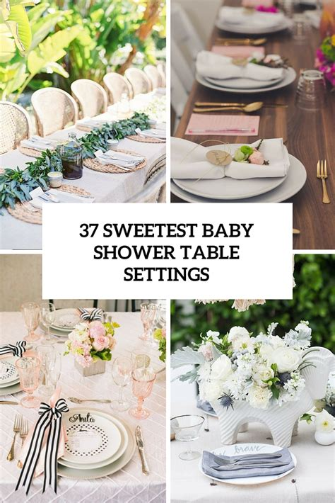 37 sweetest baby shower table settings to get inspired