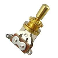 Switchcraft Straight Type Way Gold Toggle Switch For
