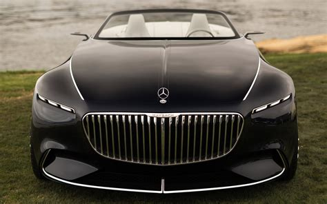 Vision Mercedes Maybach 6 Cabriolet 2017 Wallpapers