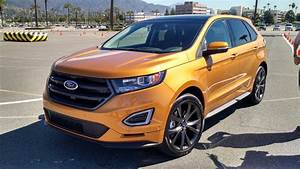 2015 Ford Edge Sport News Reviews Msrp Ratings With