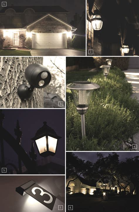 home style and safety with outdoor security lighting