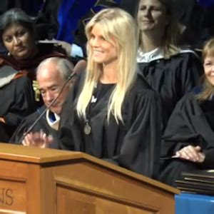 Elin Nordegren Earns College Diploma, Gives Commencement ...