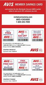 Avis Autodiscount : printable coupon for avis car rental 2017 2018 best cars reviews ~ Gottalentnigeria.com Avis de Voitures