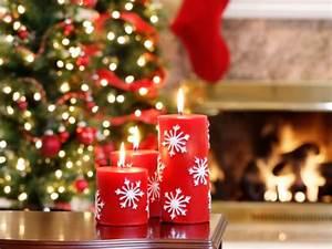 Bougies De Noel : d coration bougies no l 2017 7 d co ~ Melissatoandfro.com Idées de Décoration