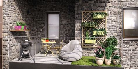 arredare un terrazzo fai da te vasi per balconi in muratura con fioriere in muratura 28
