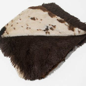 Faux Cowhide Blanket by Luxuriously Soft Faux Cowhide Blanket For Dogs Or Cats J