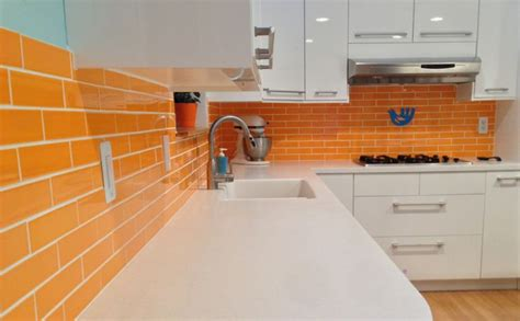 2x8 subway tile kitchen 17 best images about kitchen backsplashes on