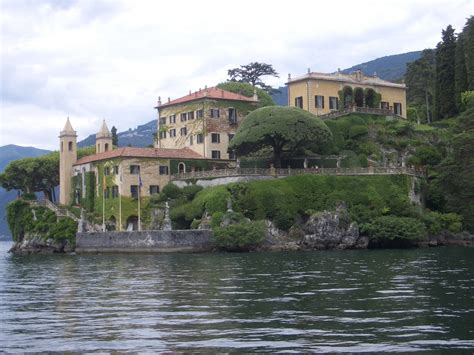 Filethe Villa Del Balbianello On Lake Como Italy