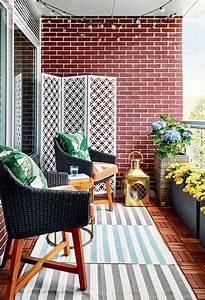 13, Bright, Sunny, Balcony, Decorating, Ideas