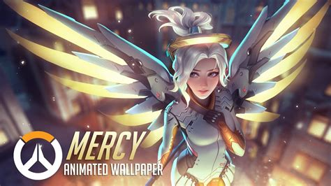 Live Moving Anime Wallpaper - mercy animated wallpaper overwatch