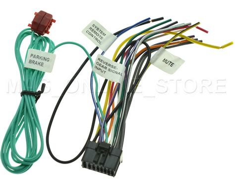 wire harness  pioneer avh xbhs avhxbhs pay