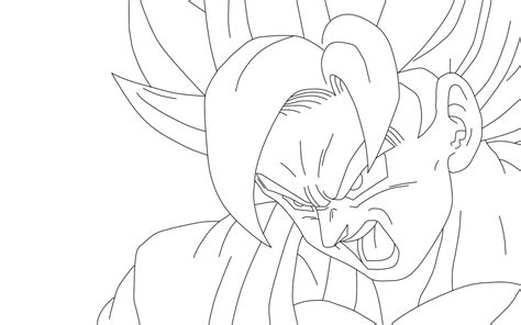 Coloring Pages Of Goku - Sanfranciscolife