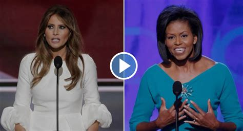 Melania Trump Copied from Michelle Obama's 2008 Convention Speech