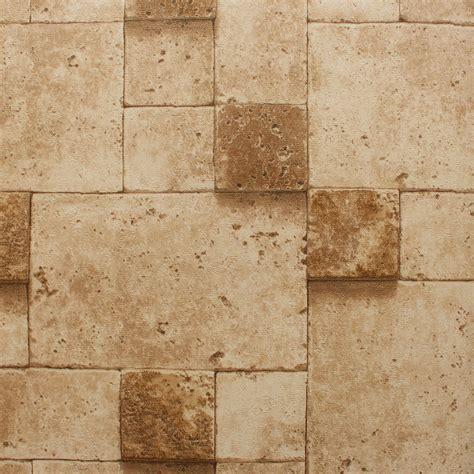 Muster Tapete Steinoptik by Look Wallpaper Wallpapersafari