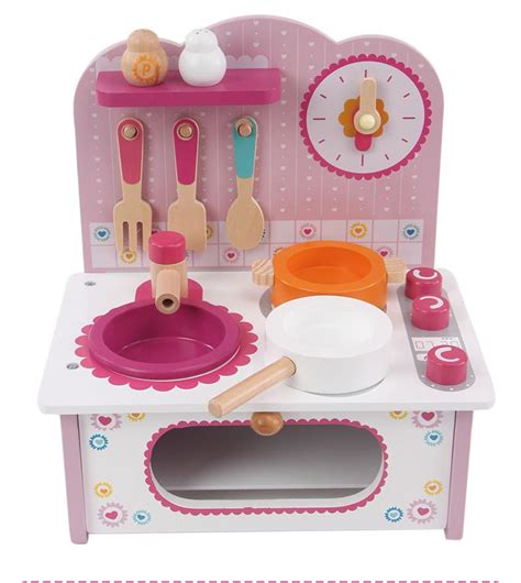Baby Cooking Toy Kid Cooking Set Wooden Play Kitchen Toy