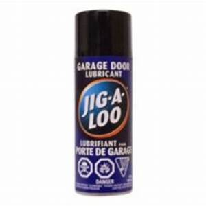 jig a loo garage door lubricant 311g canadian tire With lubrifiant pour porte de garage