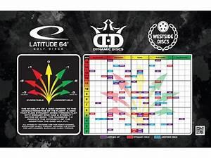 Disc Golf Disc Chart Dynamic Discs Prime Disc Golf Starter Set With Cadet Bag