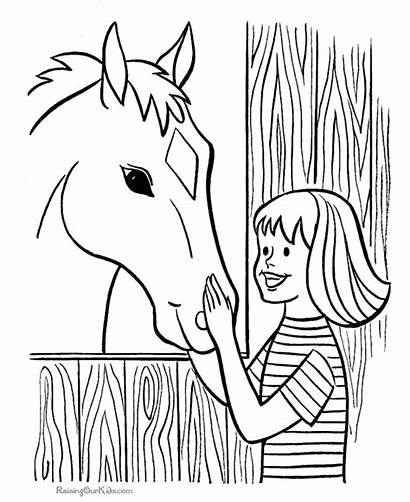 Farm Coloring Pages Printables Printable Pbs Drawing