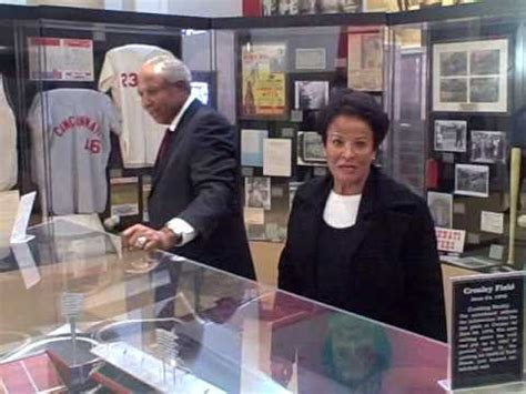 Frank and Barbara Robinson at Reds HOF - YouTube