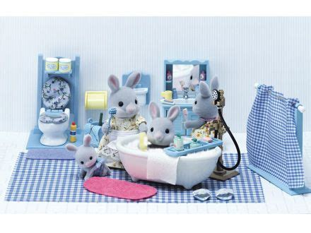calico critters master bathroom set 151 best images about calico critters sylvanian families