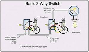 Light Wiring Diagram Two Lights One Switch