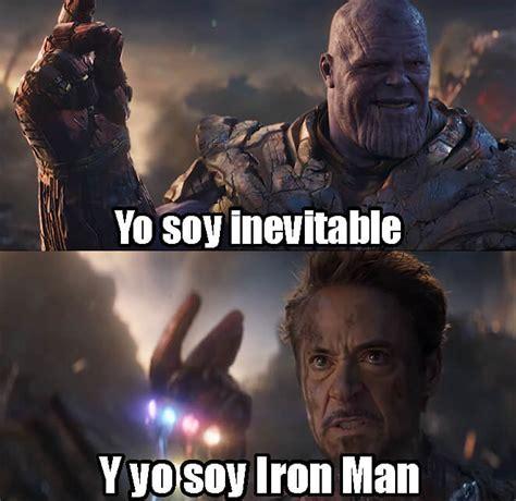 yo soy inevitable  yo soy iron man plantillas de memes