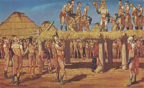 indios sudeste de estados unidos lustraciones de w