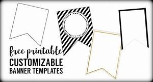 Free Printable Banner Templates {Blank Banners} - Paper