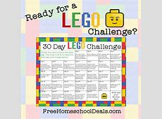 Free Printable 30Day LEGO Challenge instant download