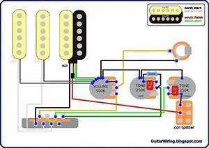 Wiring Diagram Gitar Listrik