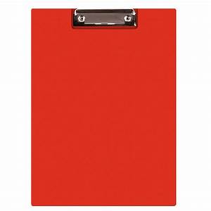 clipboard donau file pp a4 with a clip red eko biuro With document clipboard