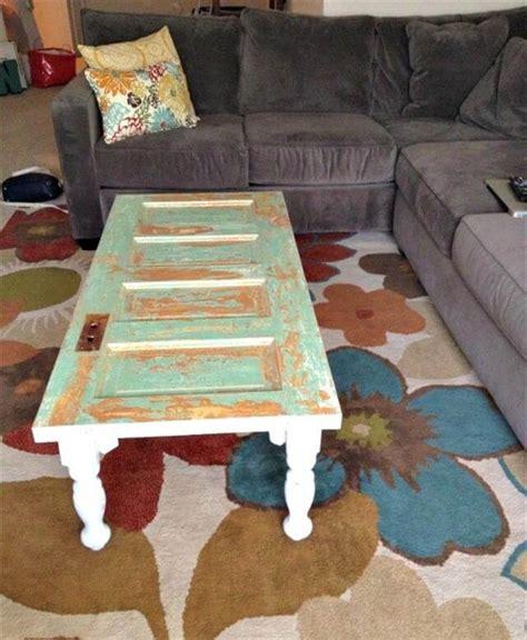diy  doors turn  coffee table diy