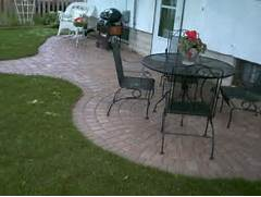 Adding Pavers To Concrete Patio Decorate Garden Ideas Patio Idea Paver Patio Design Ideas Concrete Patio