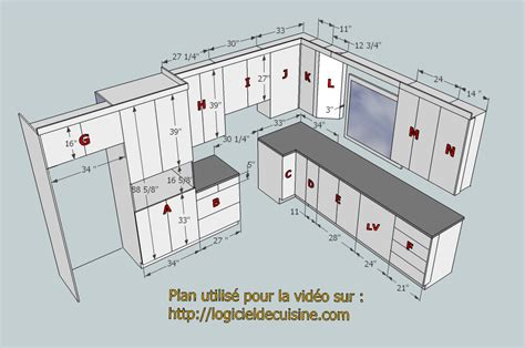 plan de cuisine impressionnant comment dessiner une maison en 3d 8