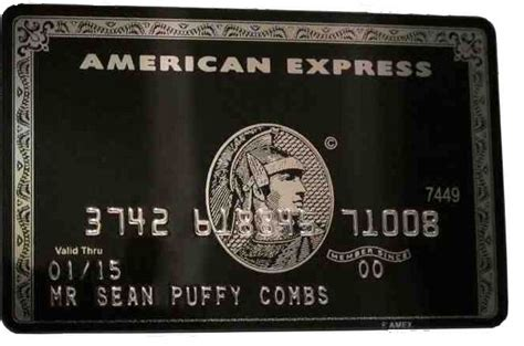 When you use the card, you'll get 1% daily cash back on every purchase. American Express Centurion Black card. Made of titanium steel. Issued by invitation-only ...