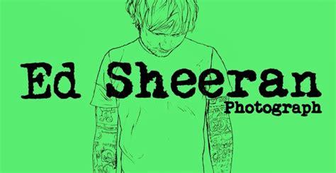 """エド・シーラン「フォトグラフ」・ed Sheeran, """"photograph"""""""