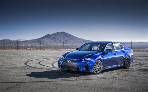 2016 Lexus Gs F Car Hd Wallpaper » Fullhdwpp