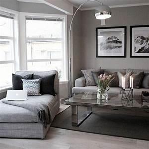 deco salon gris 25 exemples inspirants salon gris et With deco salon moderne gris