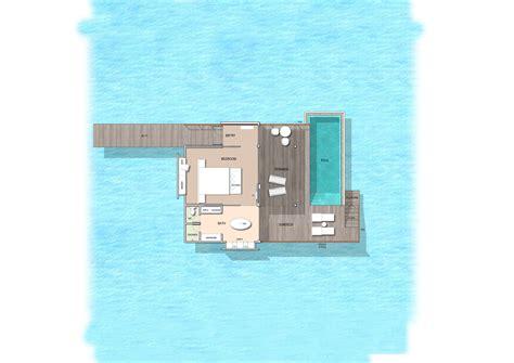 maldives water pool villas water villas  pool  kuramathi