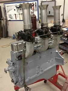 Chevy Straight 6 Gasser Motor