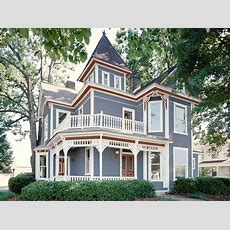 Paint Colors For Victorian Houses Exterior  House Style