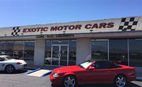 Exotic Motor Cars Used Cars Tarpon Springs Fl Dealer